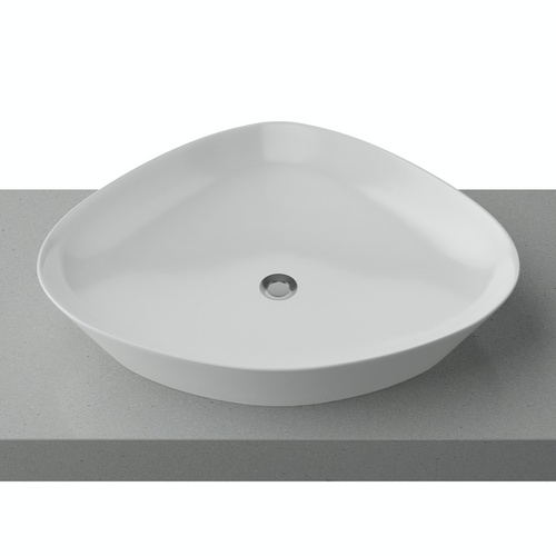 Timberline Swish White Gloss Basin - Yeomans Bagno Ceramiche