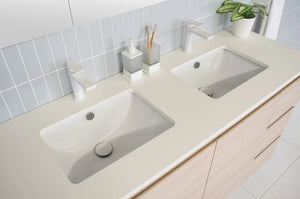 ADP Dish Under-Counter White Gloss Basin - Yeomans Bagno Ceramiche