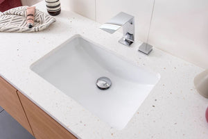 ADP Gravity Under-Counter White Gloss Basin - Yeomans Bagno Ceramiche