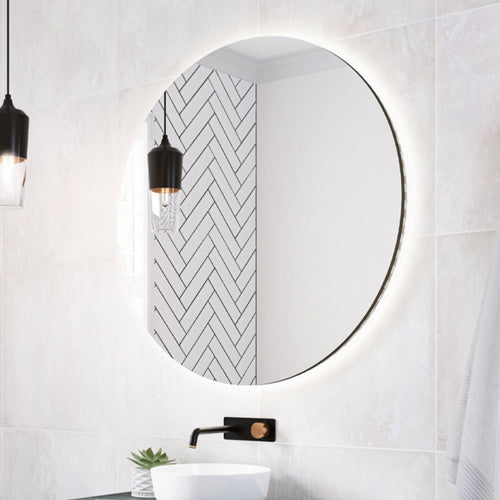 Timberline Oxford Round Mirror - Yeomans Bagno Ceramiche