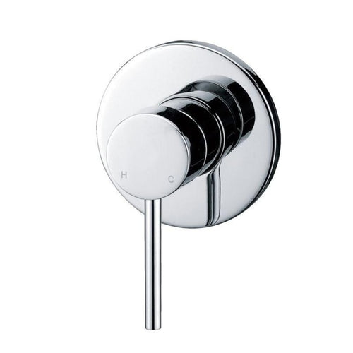 Badundküche Rund Shower Mixer - Chrome - Yeomans Bagno Ceramiche