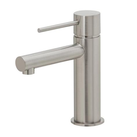 Phoenix Vivid Slimline Basin Mixer - Brushed Nickel