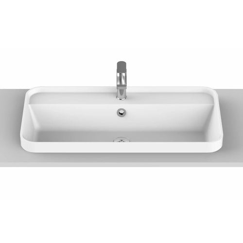 ADP Miya 750 Solid Surface Semi-Inset Basin - Yeomans Bagno Ceramiche