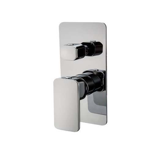 Badundküche Kasten Shower Diverter Mixer - Chrome - Yeomans Bagno Ceramiche
