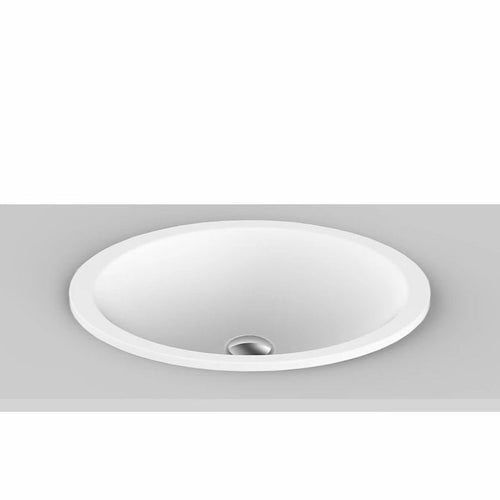 ADP Sincerity Solid Surface Inset Basin - Yeomans Bagno Ceramiche