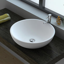 Load image into Gallery viewer, Fienza Lexy Matte White Solid Surface Basin - Yeomans Bagno Ceramiche