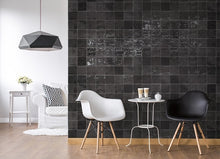 Load image into Gallery viewer, Warwick Charcoal Gloss Square Subway Tile - Yeomans Bagno Ceramiche