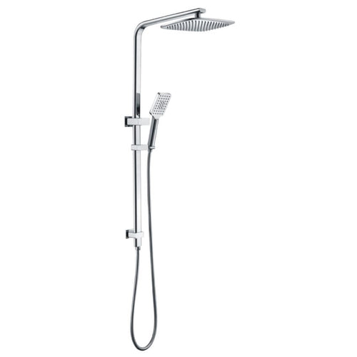 Badundküche Kasten Multifunction Hand Shower with Overhead Rain Shower - Chrome - Yeomans Bagno Ceramiche