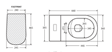 Load image into Gallery viewer, Fienza Koko Back-To-Wall Toilet Suite Matte White