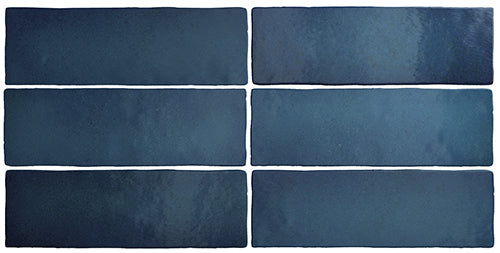 Talma Sea Blue Matte Subway Tile - Yeomans Bagno Ceramiche