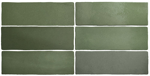 Talma Malachite Green Matte Subway Tile - Yeomans Bagno Ceramiche