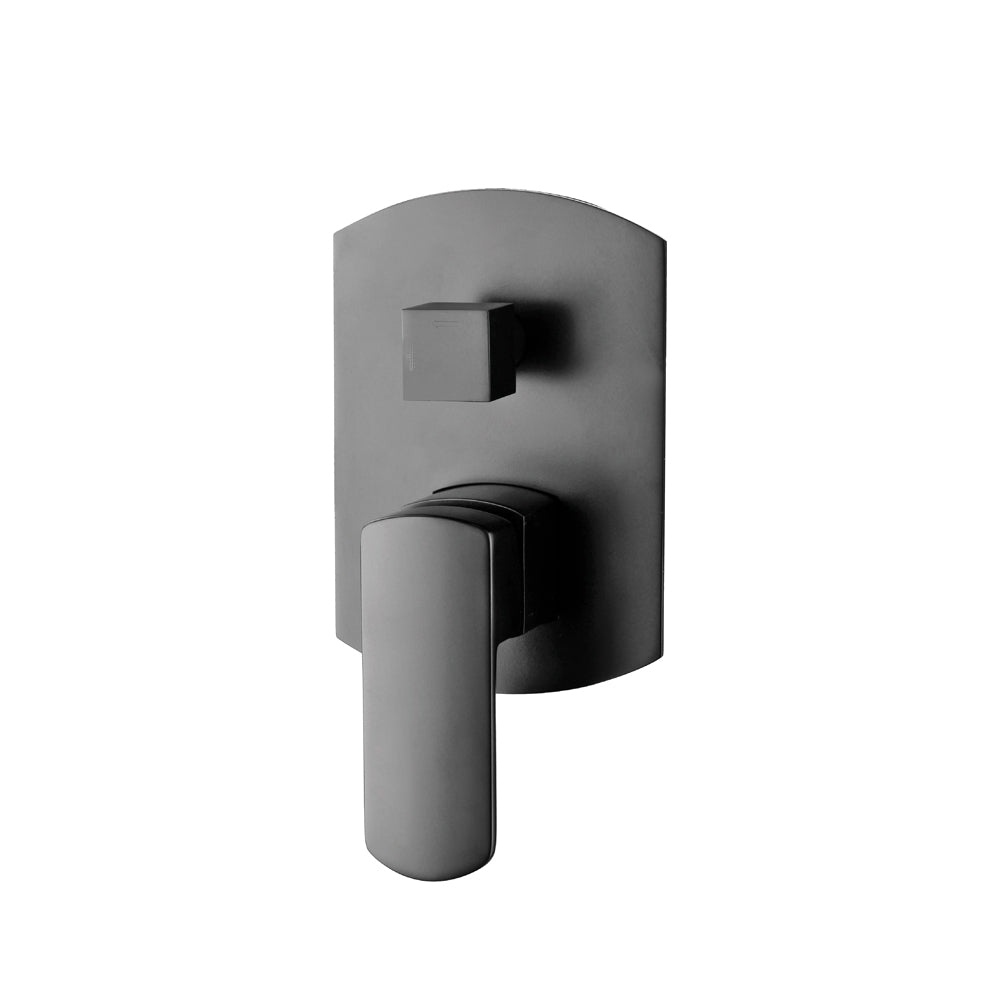 Fienza Koko Wall Mixer with Diverter - Matte Black - Yeomans Bagno Ceramiche