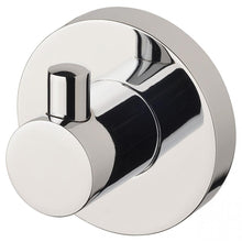Load image into Gallery viewer, Phoenix Radii Robe Hook Round Plate - Chrome - Yeomans Bagno Ceramiche