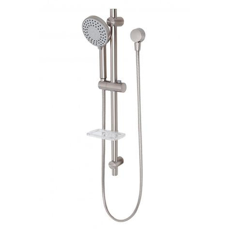 Phoenix Vivid Rail Shower - Brushed Nickel - Yeomans Bagno Ceramiche