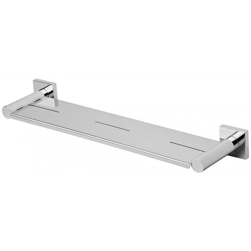 Phoenix Radii Metal Shelf Square Plate - Chrome - Yeomans Bagno Ceramiche