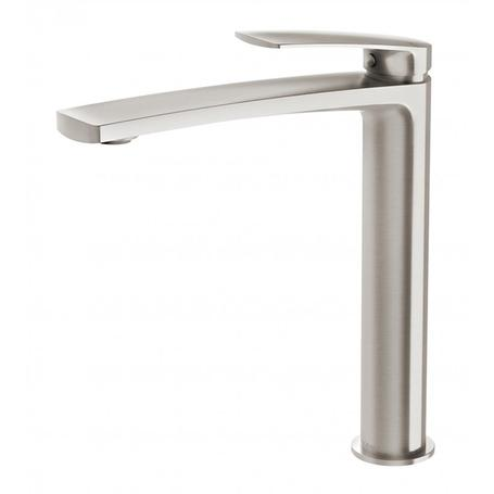 Phoenix Mekko Vessel Mixer - Brushed Nickel - Yeomans Bagno Ceramiche
