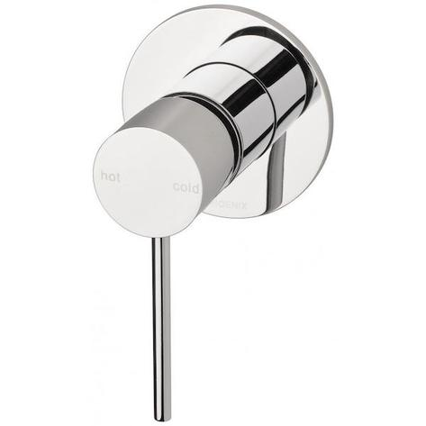 Phoenix Vivid Slimline Shower/Wall Mixer - Chrome - Yeomans Bagno Ceramiche