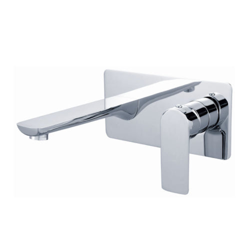 Badundküche Kasten Basin Mixer with Outlet - Chrome - Yeomans Bagno Ceramiche