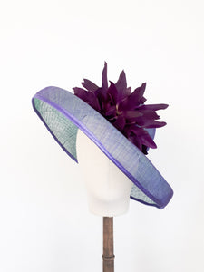 Amy Large Sinamay Hat - Fee McToal Millinery
