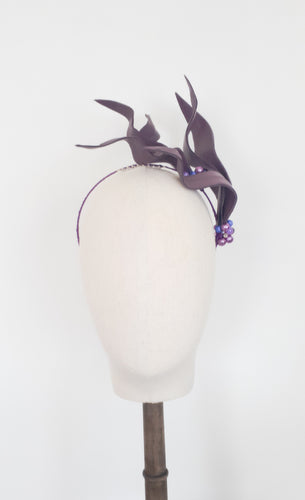 Ruby - Nature & Nurture Collection - Fee McToal Millinery