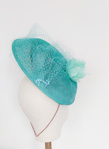 Seabreeze Saucer Fascinator