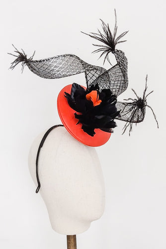 3D Leather Headpiece - Fee McToal Millinery