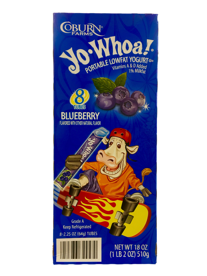 Yo Whoa Blueberry Yogurt Tubes