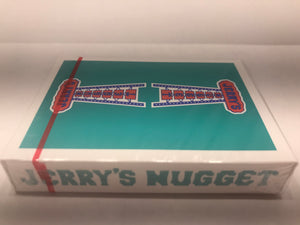 Teal Jerrys Nugget Playing Cards