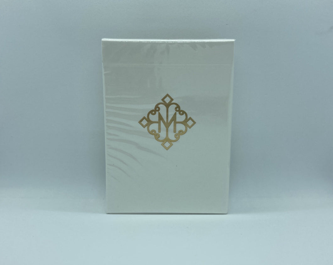 Gold Madison Revolvers Playing Cards