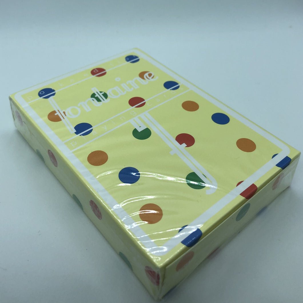 Polka Fontaine Futures Playing Cards