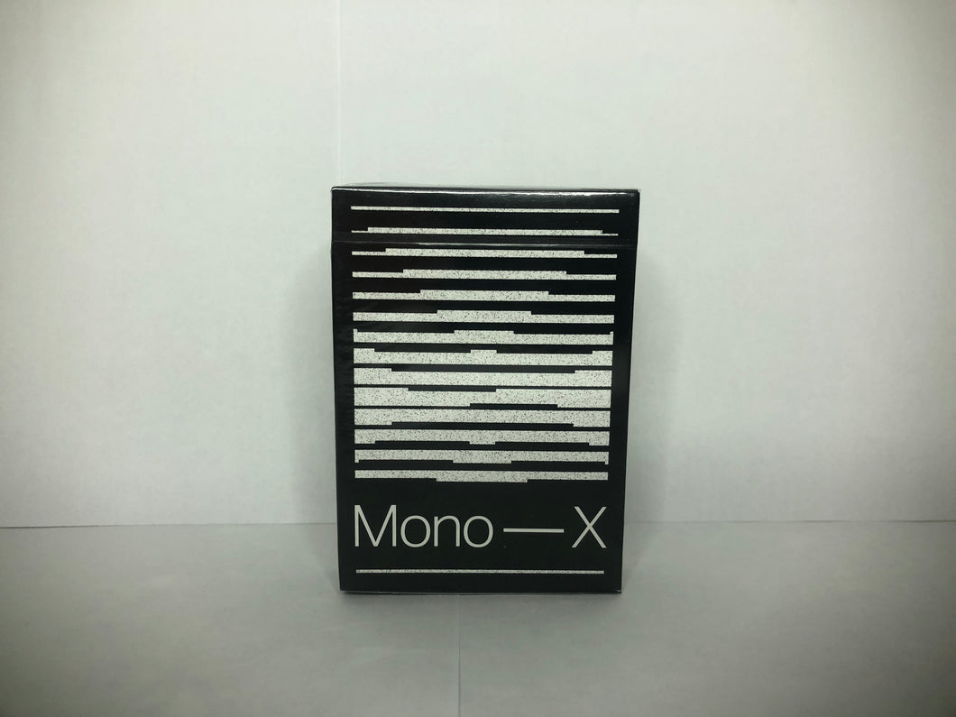 Mono X Playing Cards