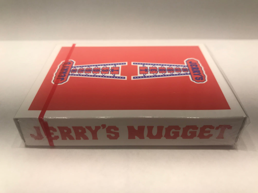 Red Jerrys Nugget Playing Cards