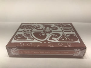 Red Smoke and Mirrors Reprint Playing Cards