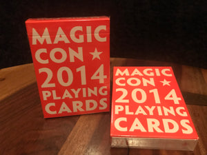 Magic Con 2014 Playing Cards