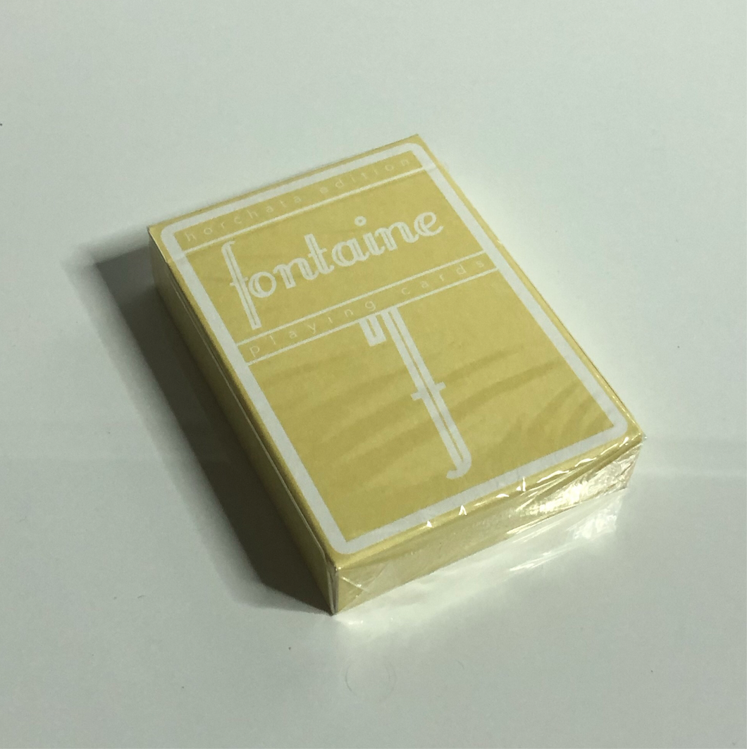 Horchata Fontaine Playing Cards