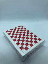 Load image into Gallery viewer, Red Checkerboard Playing Cards