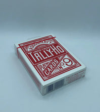 Load image into Gallery viewer, Red Tally Ho Circle Back Playing Cards