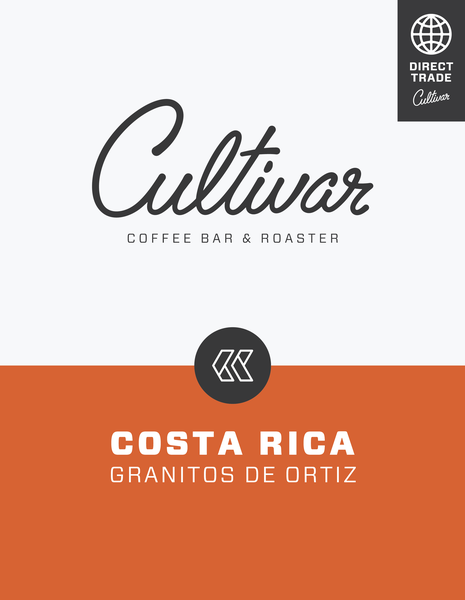 Coffee from Costa Rica Granitos de Ortiz