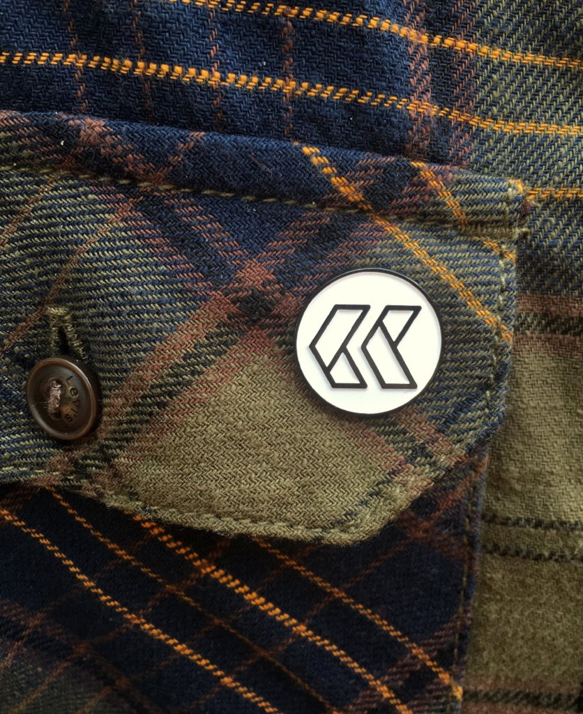 Cultivar Coffee Logo Enamel Pin