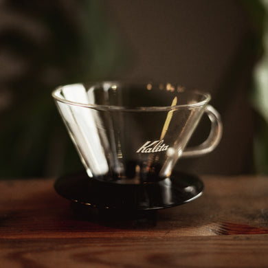 Kalita Wave  #185 glass coffee dripper