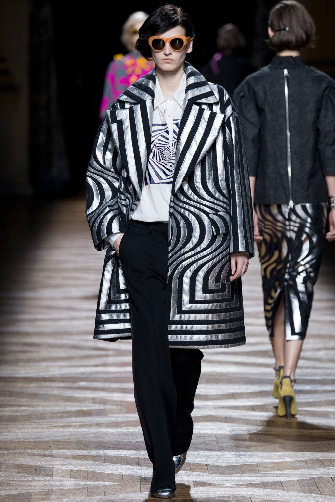 Look 5 of 55 dries van noten fall 2014 Rtw