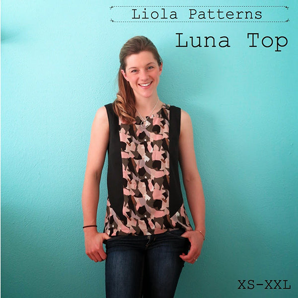 Liola Patterns' newest creation: The Luna Top