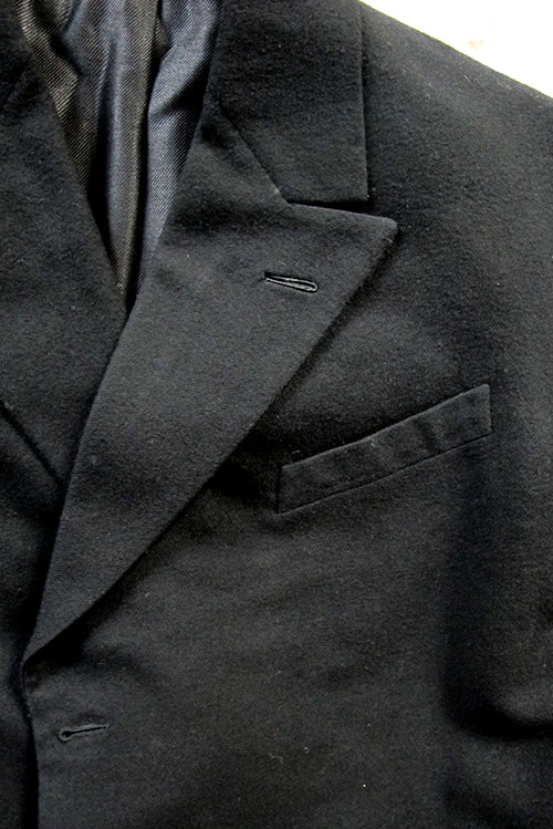 dress coat collar and pocket detail