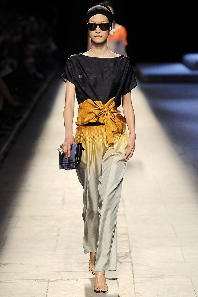 look 28 of 55 dries van noten spring 2009 rtw