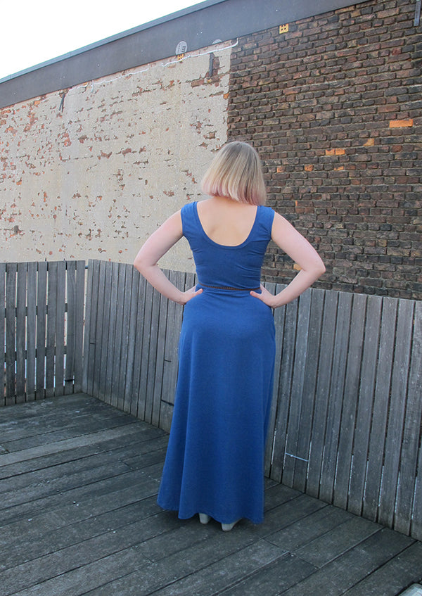 wardrobe stress maxi dress back