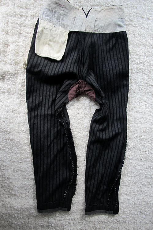men's pants inside back view