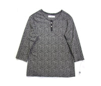 Henley Shirt with Carbon Pattern