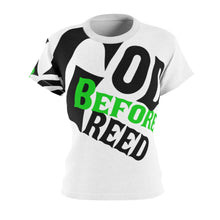 Load image into Gallery viewer, God Before Greed / Women's AOP Cut & Sew Tee