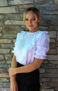 Simply Ruffled Top
