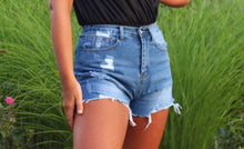 Load image into Gallery viewer, Make Them Jealous Denim Shorts